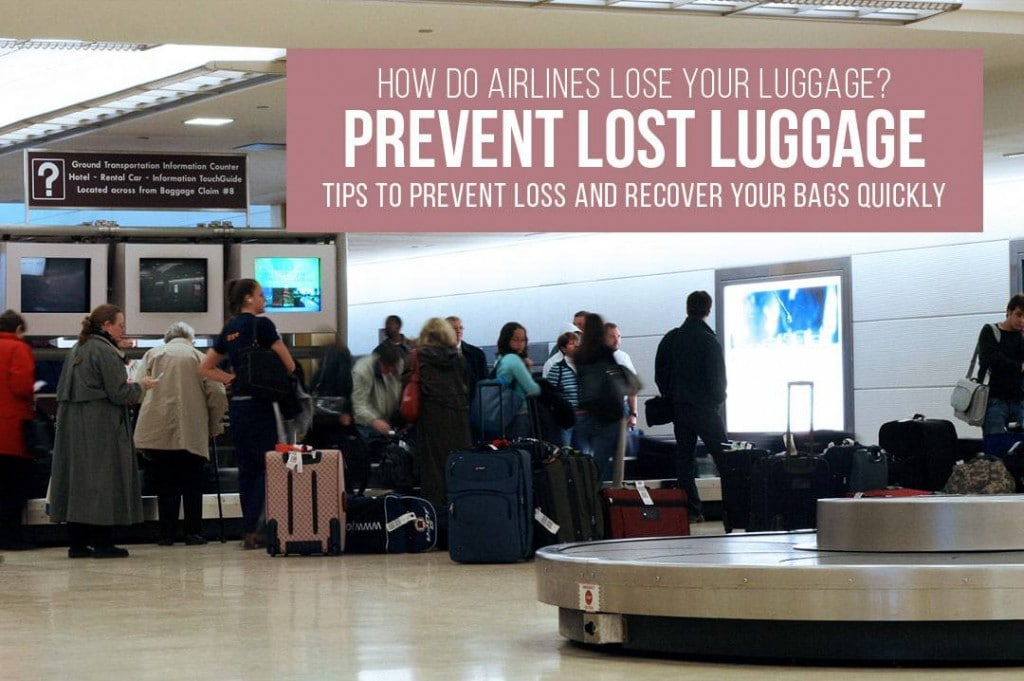 How do airlines lose luggage? Prevent lost luggage and recover lost bags quickly with these travel tips. | Travel tips | Lost luggage | luggage recovery | prevent losing luggage |