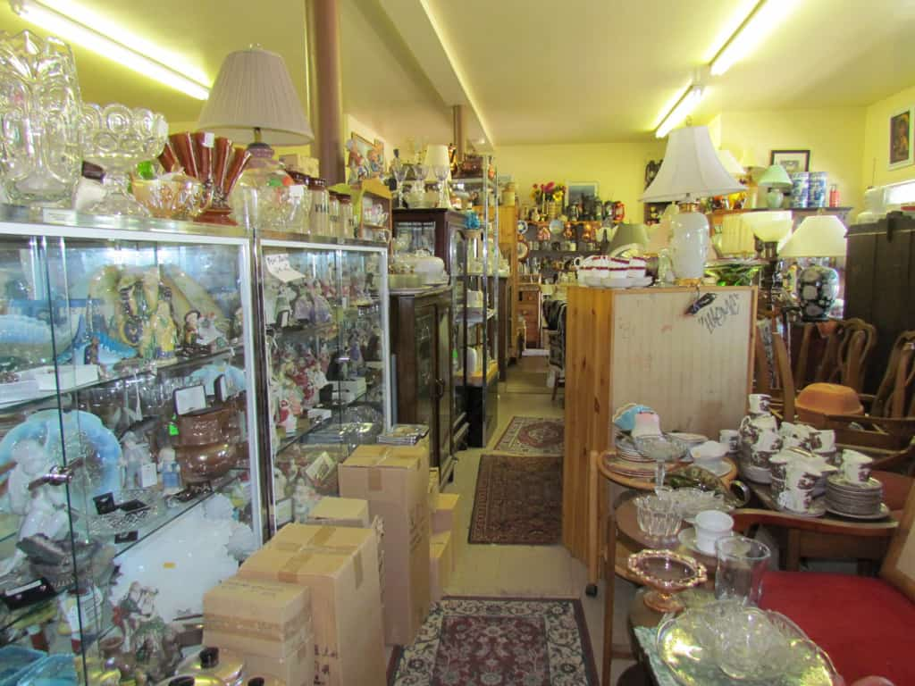 Lots of small store treasures to be found in the village for Furniture exchange