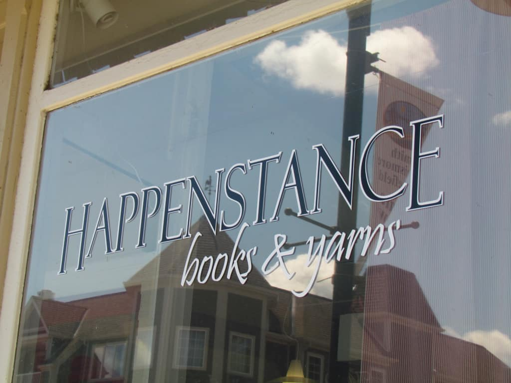 Lakefield Ontario Happenstance books and yarns