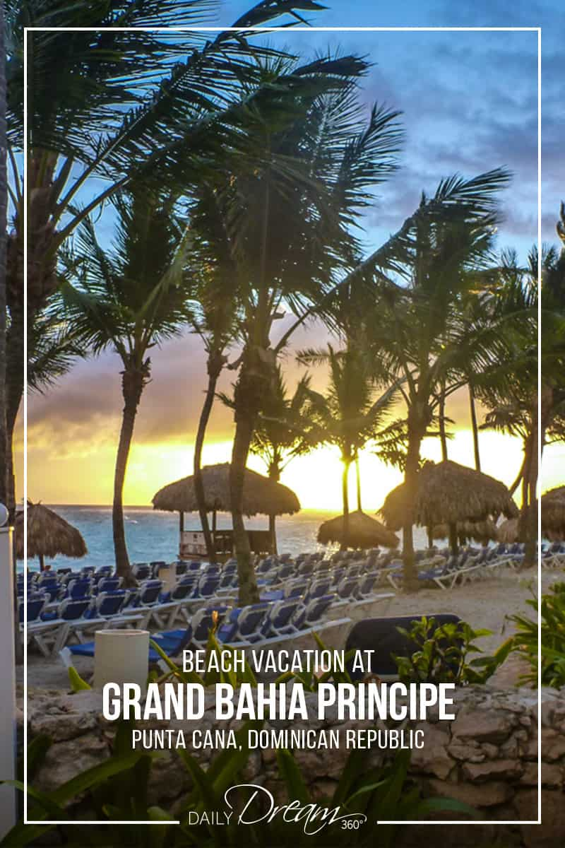 The Grand Bahia Principe Punta Cana is a popular all-inclusive resort in the Dominican Republic. Its sprawling grounds with beautiful pools, and vast beach area make it the perfect spot for a beach vacation. | #PuntaCana #DominicanRepublic #Resort #Hotel #Caribbean #BeachVacation #Beach |