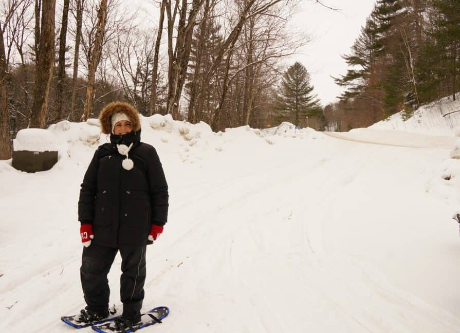 Yours Outdoors_Haliburton_snow shoeing_030214_01