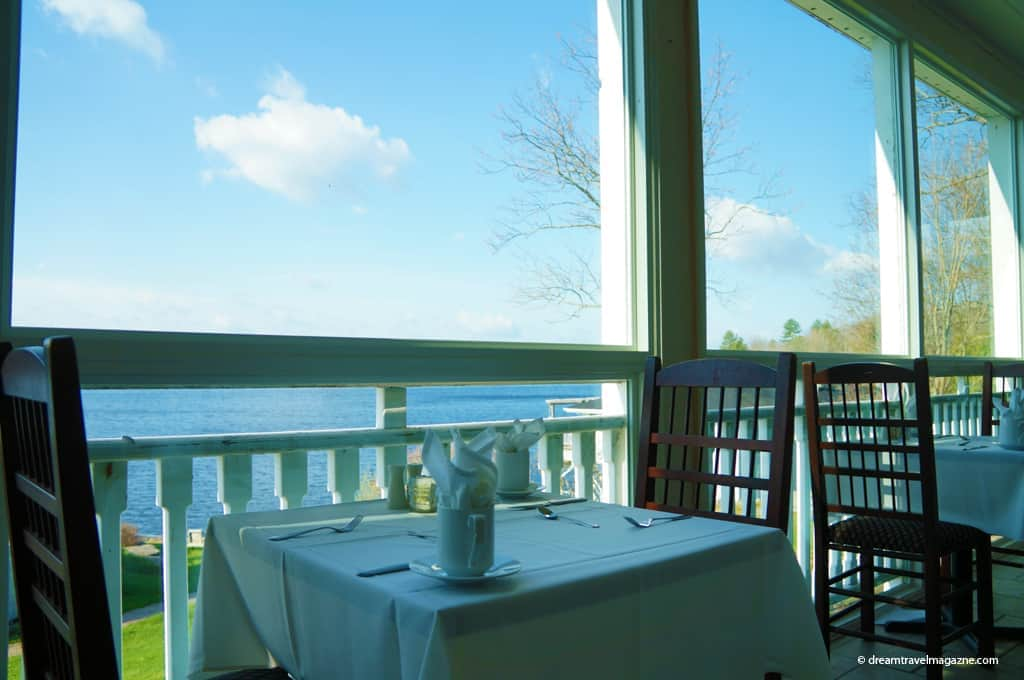 Viamede Resort_2014_Kawarthas_restaurant 1885 view