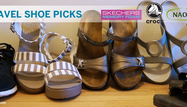 Best Shoes for Travel – Vacation Must Haves for Your Feet