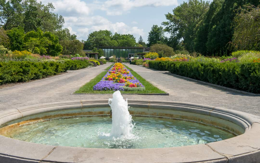 Discover A Popular Attraction In Montreal. The Montreal Botanical Gardens  Offer Beautifully Manicured Themed Gardens