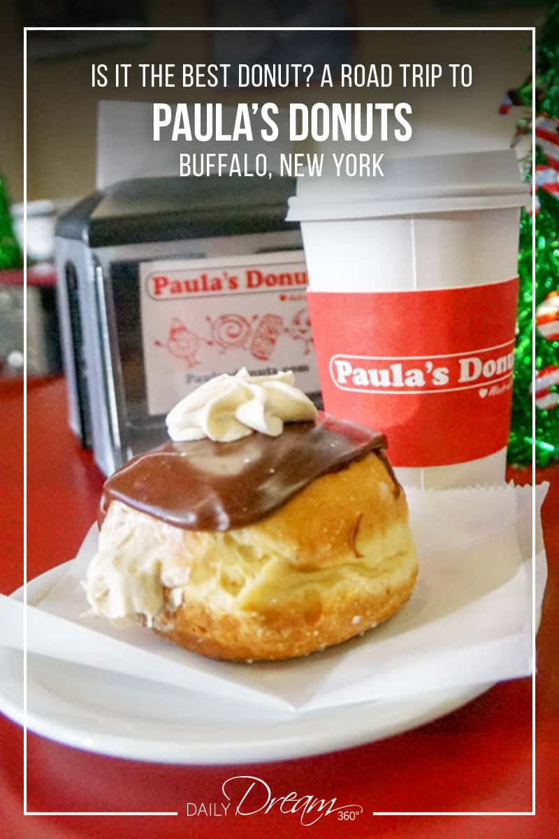 Paula's Donuts - are they the best donuts in Western New York? I took a drive out to Tonawanda, just outside Buffalo New York to find out! | #Buffalo #NewYork #donut #doughnut |