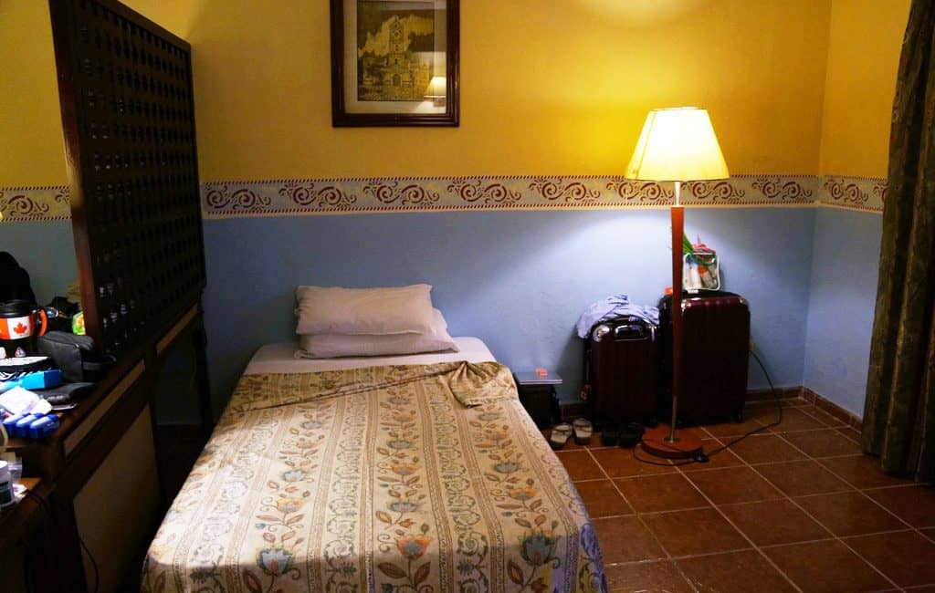Promised room included a cot vs a double bed as promised Review: Brisas Guardalvaca Cuba