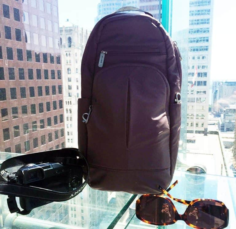 Travel Classic Sling Anti Theft Bag Travel Gear Review_03