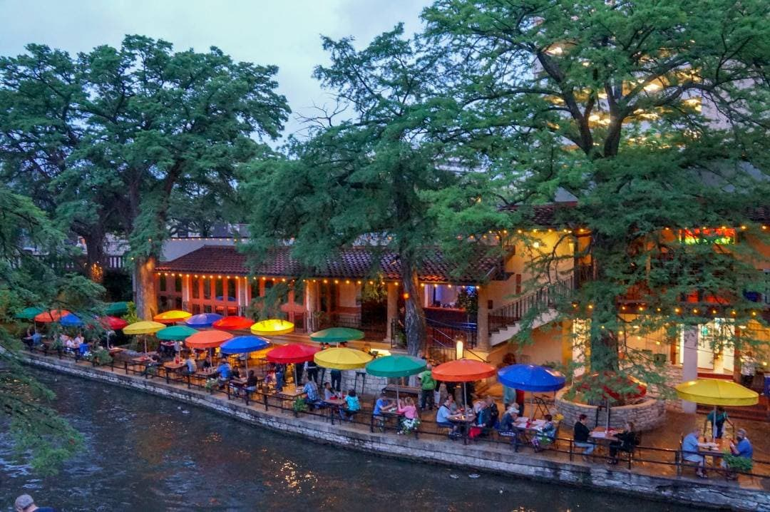 San Antonio Texas River Walk and Alamo