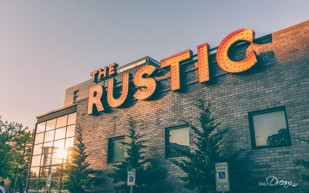 The Rustic Dallas a restaurant and backyard patio