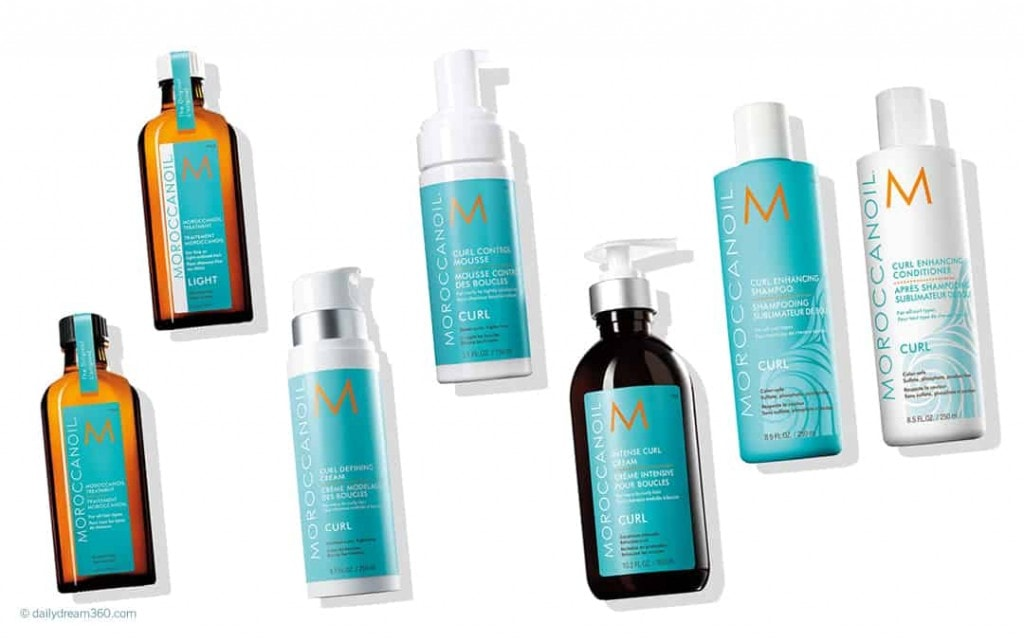 Moroccan Oil Curly Hair Products