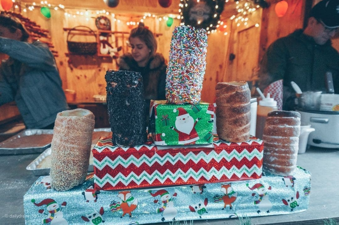 Delicious holiday sweets at Toronto Christmas Market