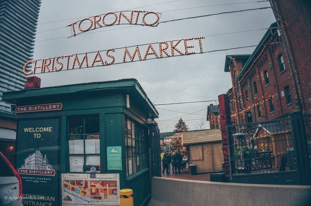 Celebrate the Holidays at the Distillery District Toronto Christmas Market
