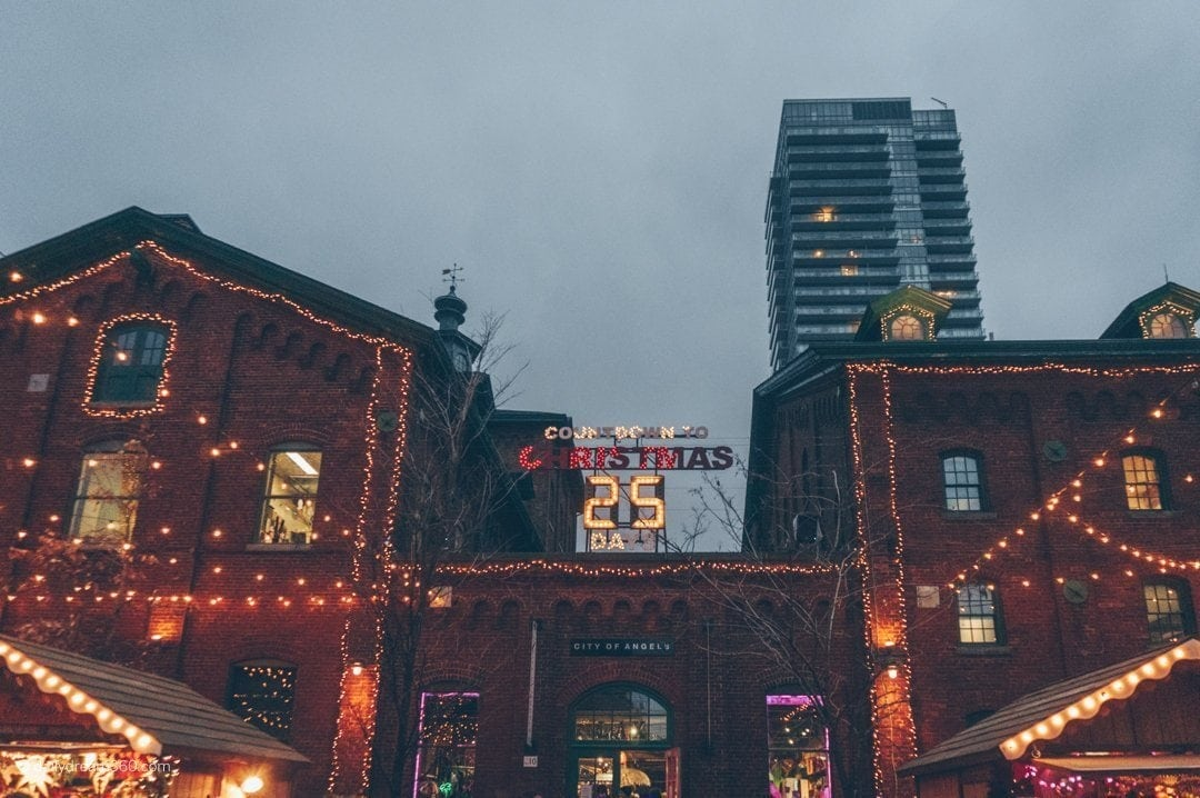 Countdown to Christmas at Distillery District Toronto Christmas Market