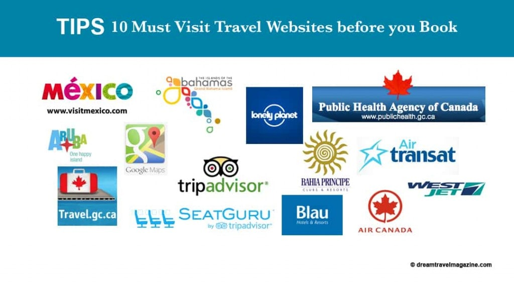 10 Must Visit Travel Websites before you book.