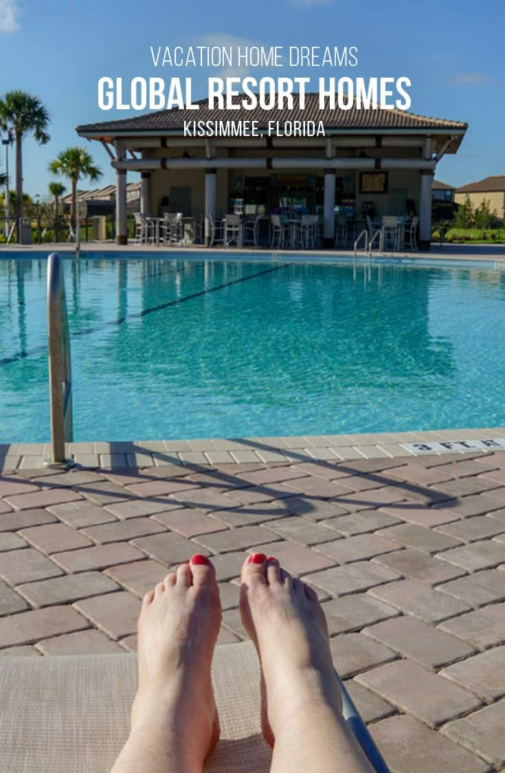 The Oasis Clubhouse featured numerous pools and a lazy river, all part of the Global Resort Home vacation rentals in Kissimmee Florida. | #resorthome #kissimmee #florida |