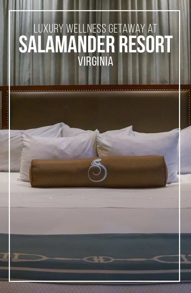 A luxury getaway at Salamander Resort and Spa in Virginia includes luxury accommodations, fine dining and full-service wellness spa. A luxury vacation with a wellness angle. | Salamander Resort | Virginia | wellness vacation | luxury resort | USA |