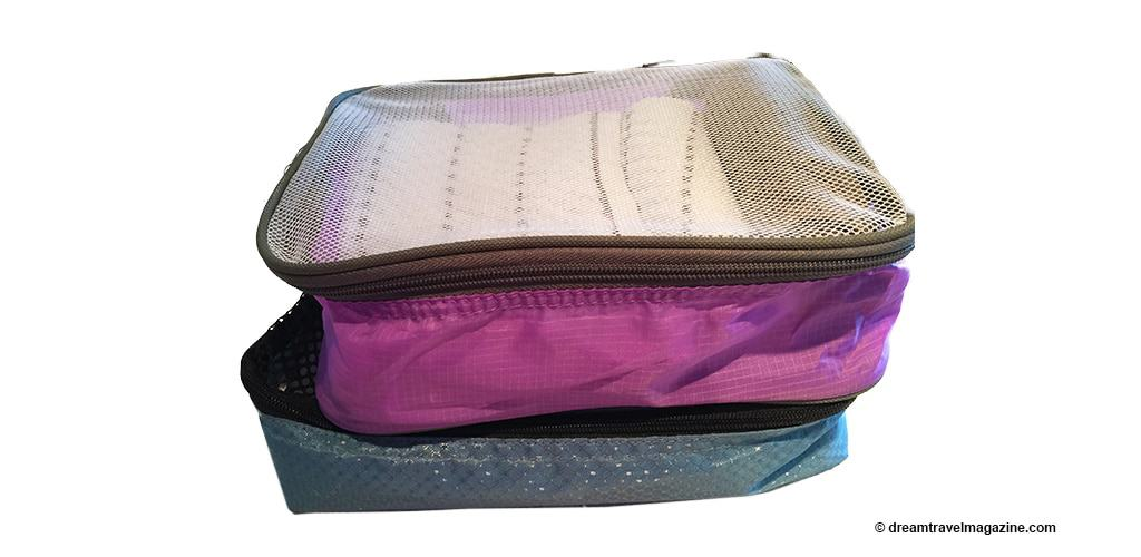 Austin House and Heys Packing Cubes comparison