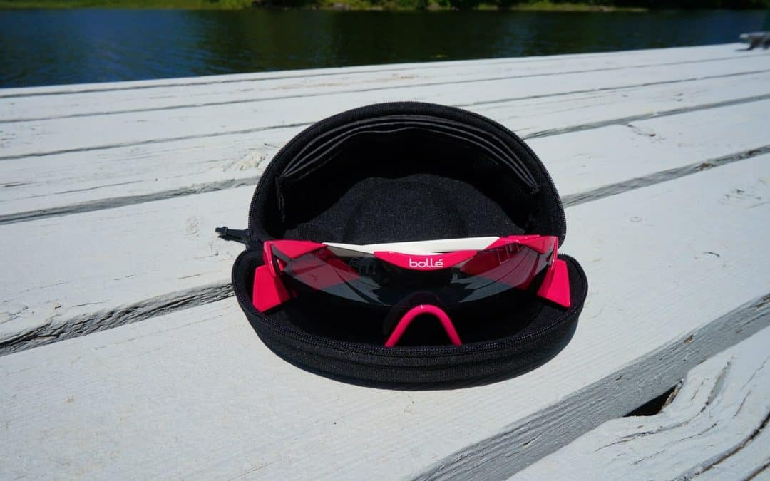 Bolle 6th Sense S Sunglasses Magenta 12078 in case
