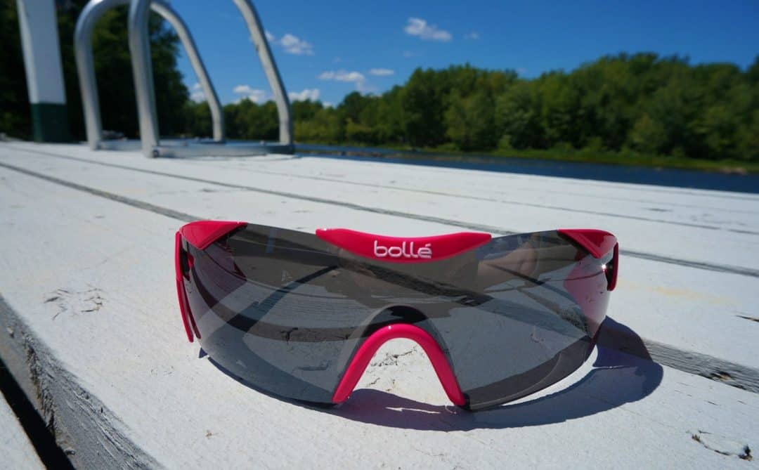 on the dock Bolle 6th Sense S Sunglasses Magenta 12078
