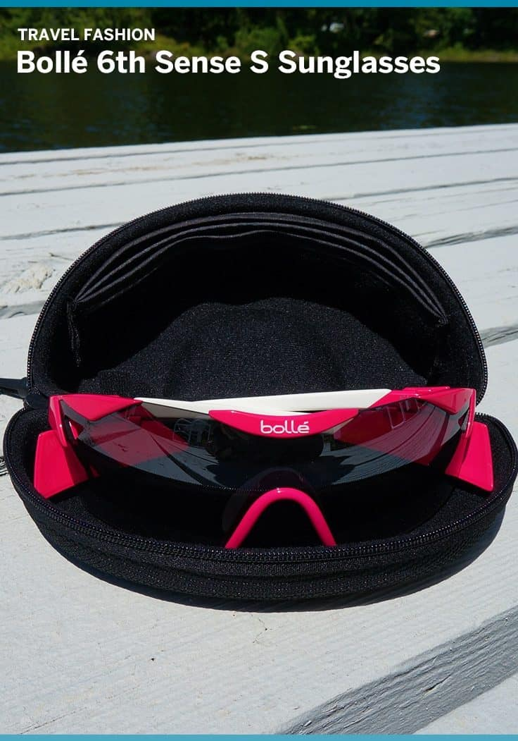 Sporty and stylish the Bollé 6th Sense S sunglasses were great for hot weather and high activity. Anti-fog lenses, adjustable nose band made these a perfect fit.