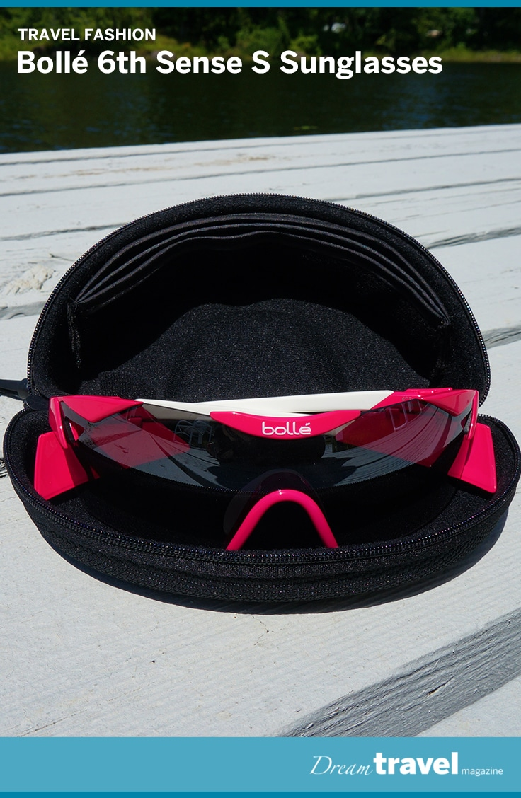 a649a44eed Sporty and stylish the Bollé 6th Sense S sunglasses were great for hot  weather and high