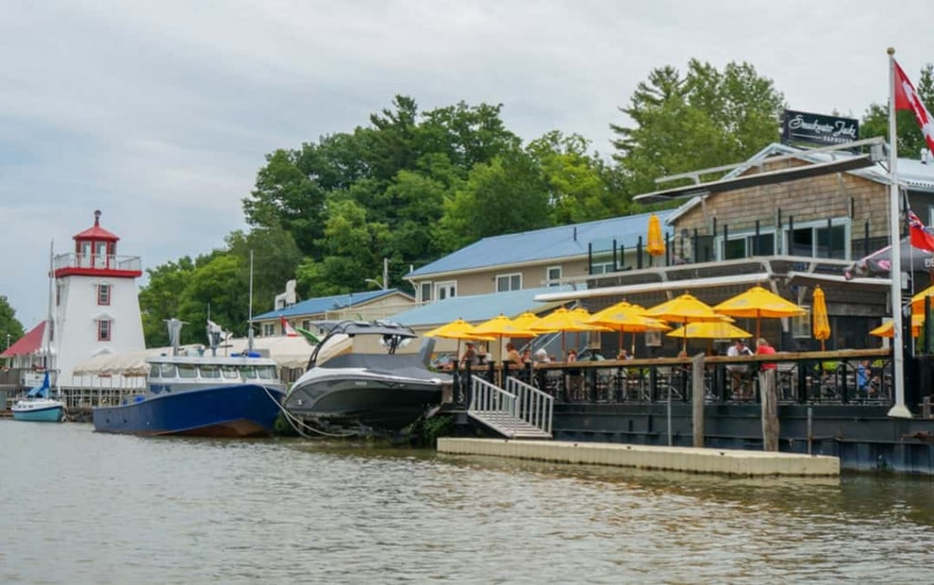 Patio Heaven at Smackwater Jack's Taphouse Grand Bend