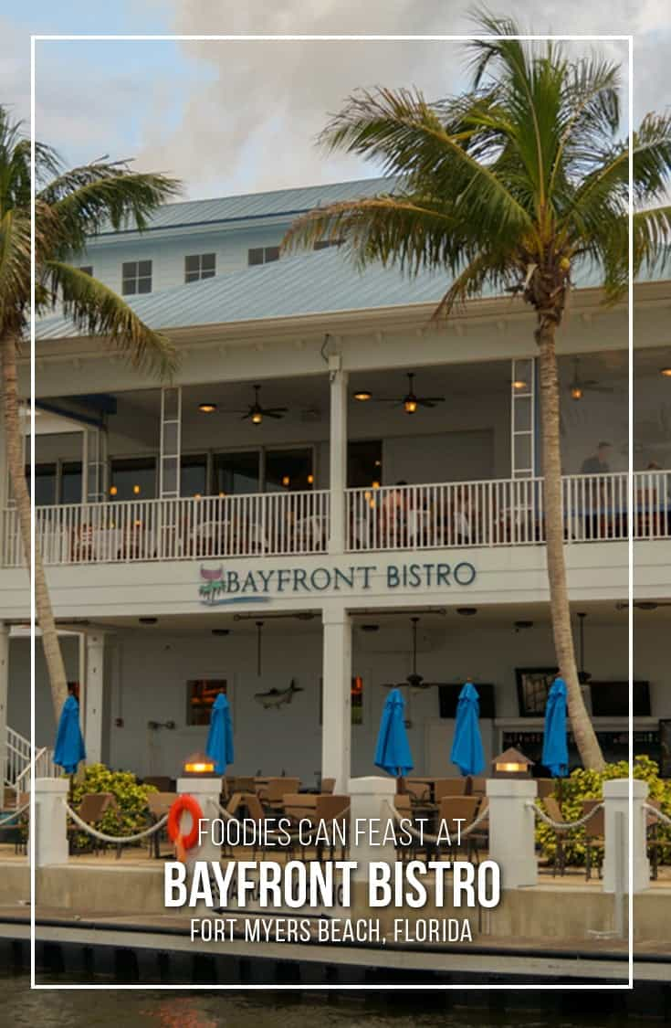 We had a delicious fine dining foodie feast at Bayfront Bistro in Fort Myers Beach Florida. A must stop restaurant if you are visiting the area. | #Florida #FortMyersBeach #Restaurant #finedining |