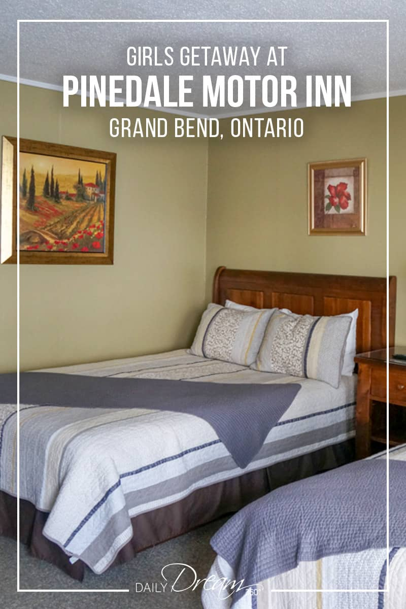 Escape the city for a beach vacation in Ontario. We recommend the Pinedale Motor Inn in Grand Bend Ontario. This is a family-run hotel, just minutes from Grand Bend Beach and Pinery Provincial Park. | #Ontario #Travel #Beachvacation #GrandBend #hotel #OntSouthwest |