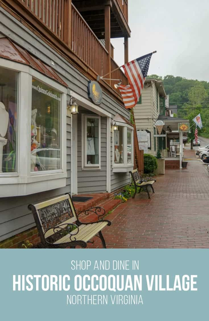 Discover the Historic Occoquan Village and enjoy the many little boutique shops, restaurants and the local historic Museum in Virginia USA.   USA   Virginia   Historic Village  