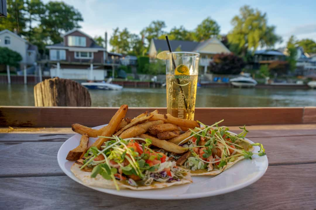 Perch Tacos Smackwater Jack's Taphouse Grand Bend Ontario