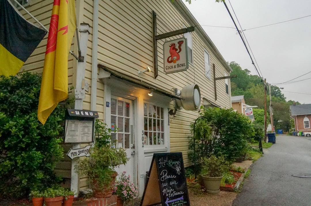 Historic Occoquan Village Shops and Museum Virginia USA