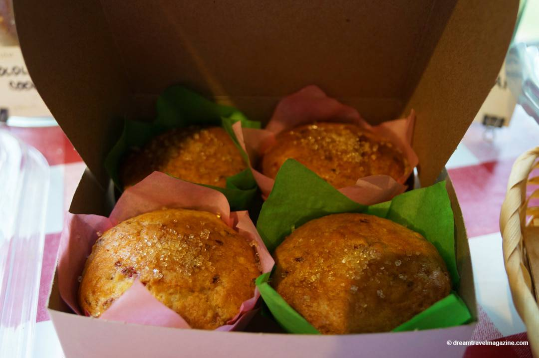 Muffins at Good Bread Company Farm Fresh Markets and Wineries-