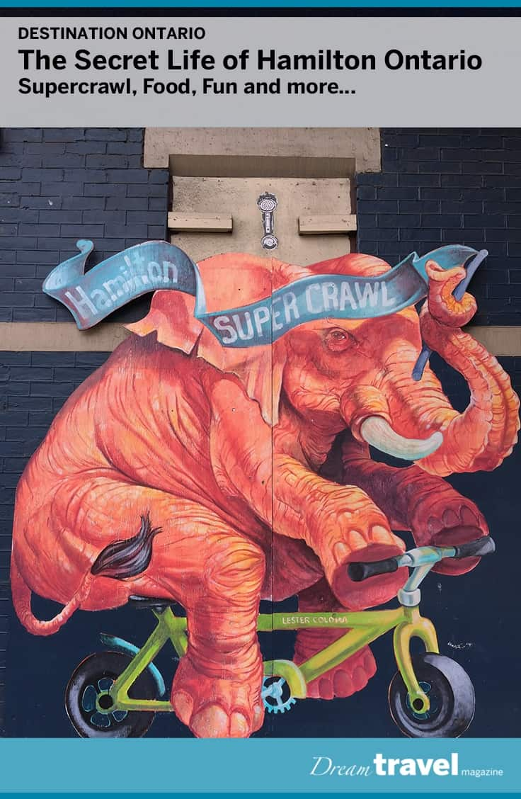 Hamilton Ontario is a city with many hidden secrets, including their annual fall festival Supercrawl. Showcasing the best food, music and art of the region, the entire city comes out to celebrate all the City's best kept secrets.