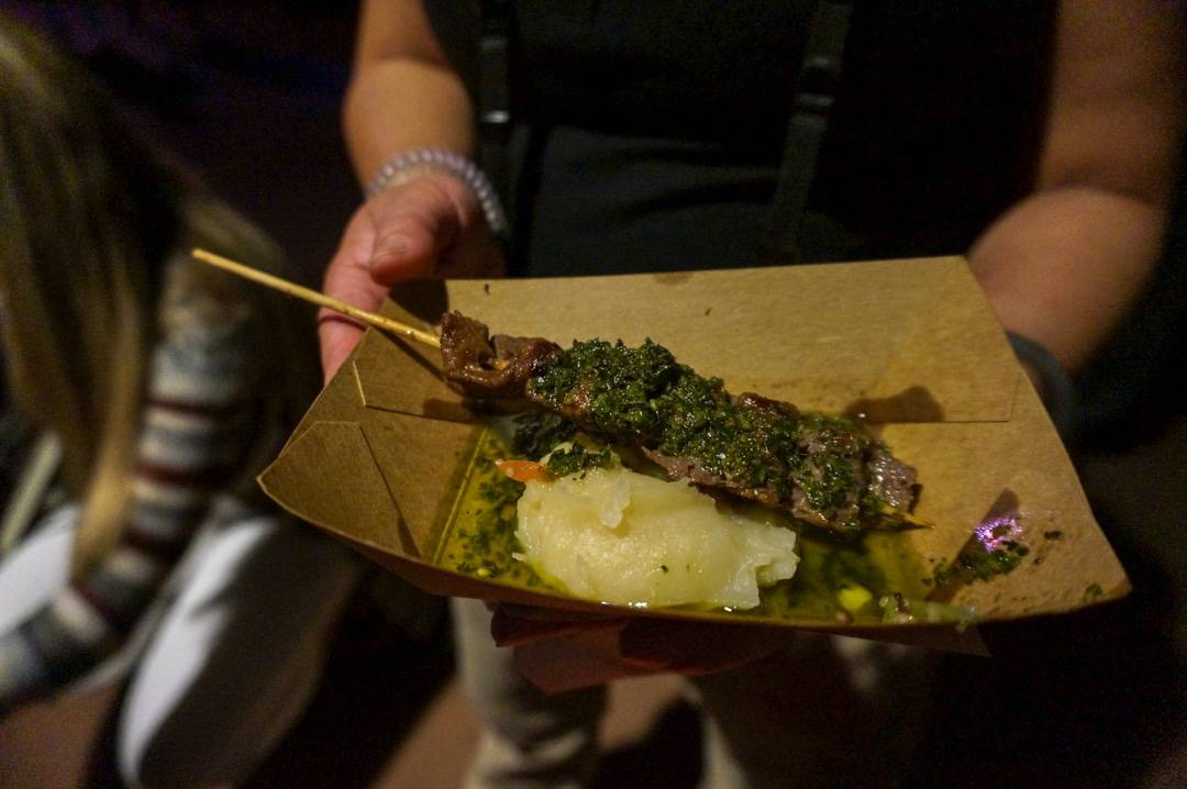 Yummy eats well into the night at Epcot food and wine