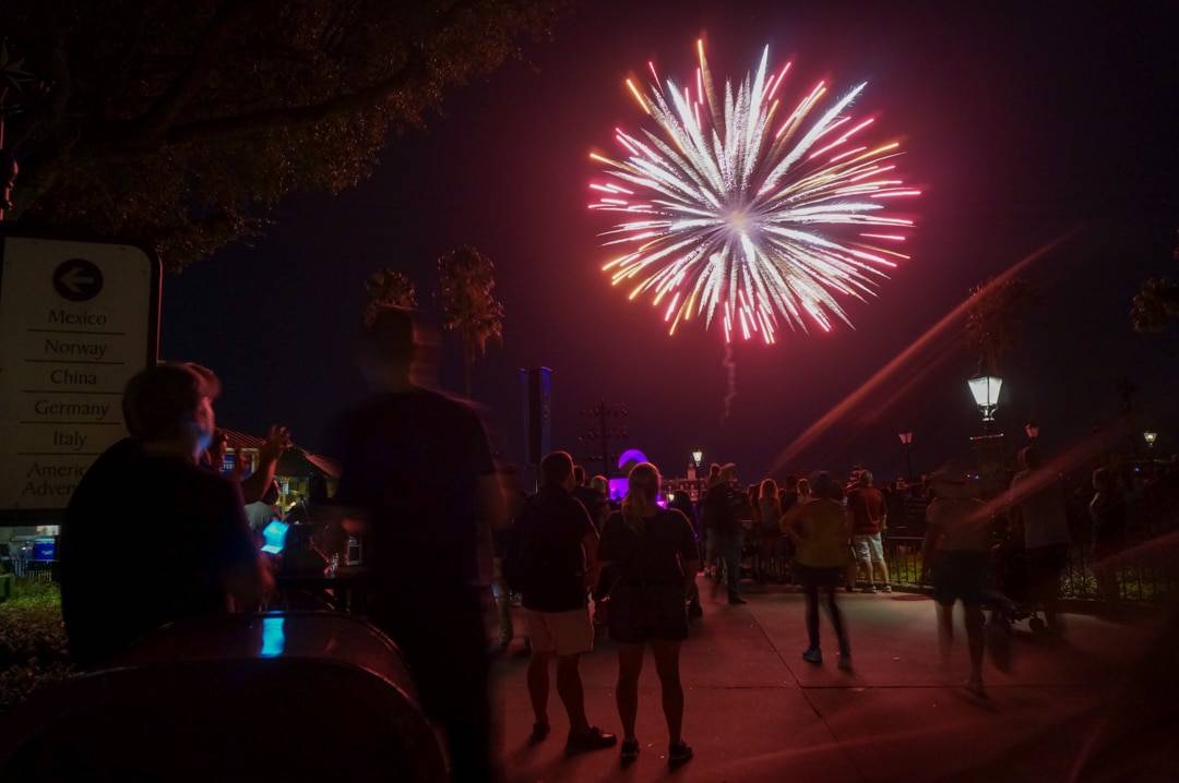 Fireworks at Epcot Center