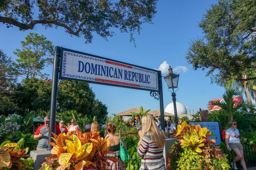 Dominican Republic Kiosk Food and Wine Festival