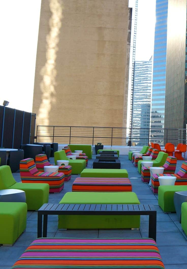 Aloft Houston downtown is centrally located and offers exclusive features like its Rooftop patio and bar complete with pool. The hotel features spacious boutique style rooms and all the Aloft inspired amenities you know and love.