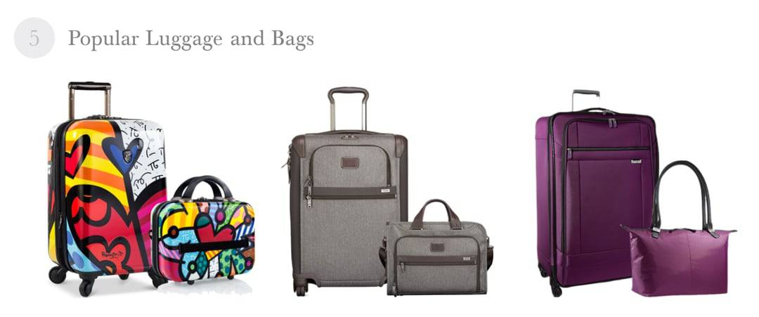 Luggage and Bags 2016 Best Holiday Gift Ideas for Travel Lovers