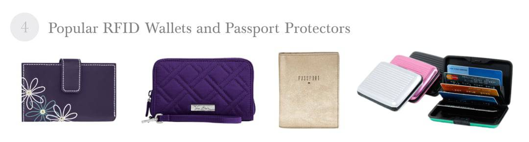 RFID Wallets and Passport Protectors 2016 Best Holiday Gift Ideas for Travel Lovers