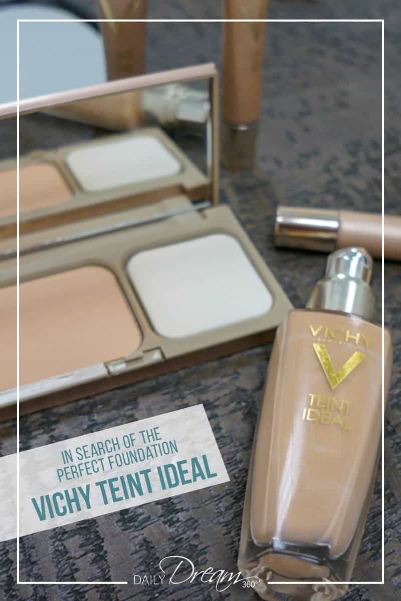 In the search of the perfect foundation, I test out the entire line up of Vichy Teint Ideal foundation. From the fluid, cream and powder foundation, to their quick concealer and highlighting roll ons, we have the details in this post. #makeup #foundation #vichy #vichylover #liquidfoundation #powder #bronzer |