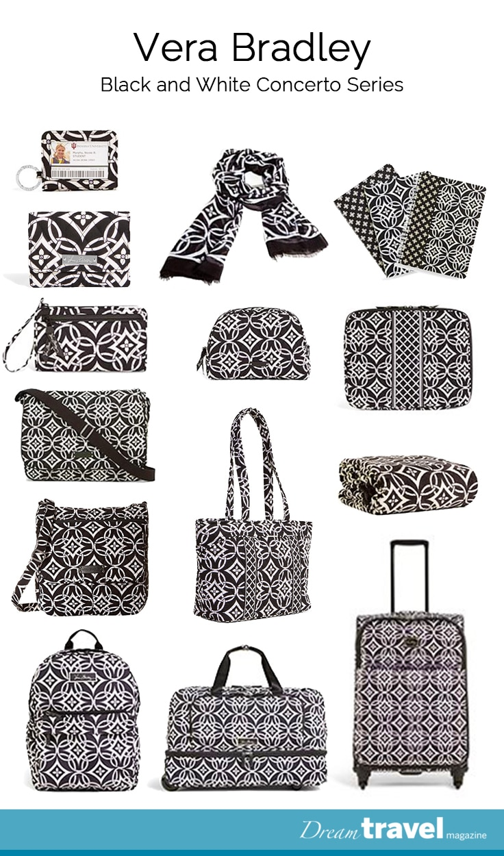 d1ff40f635 Vera Bradley s Winter 2015 collection is the black and white pattern