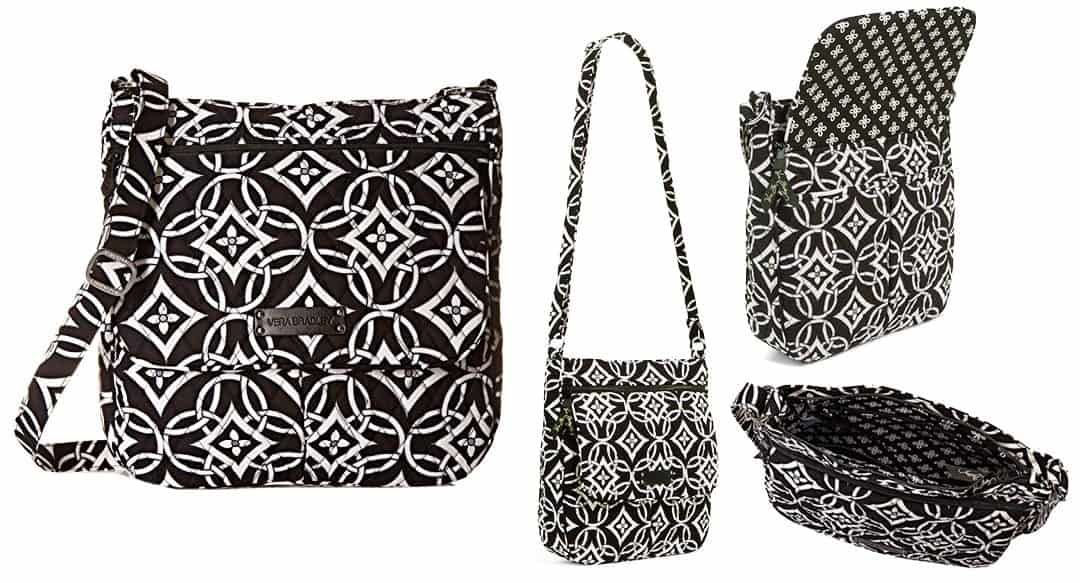 Vera Bradley travel gear the double zip mailbag concerto pattern