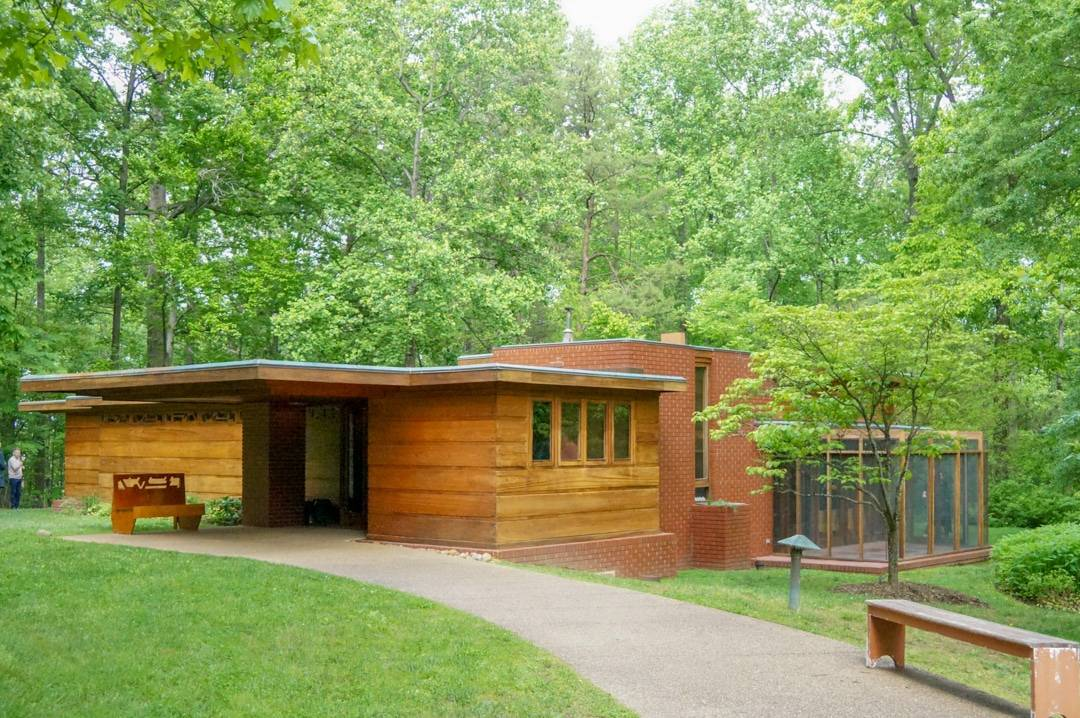 Frank Lloyd Wright Pope Leighy House Things to do in Fairfax Virginia