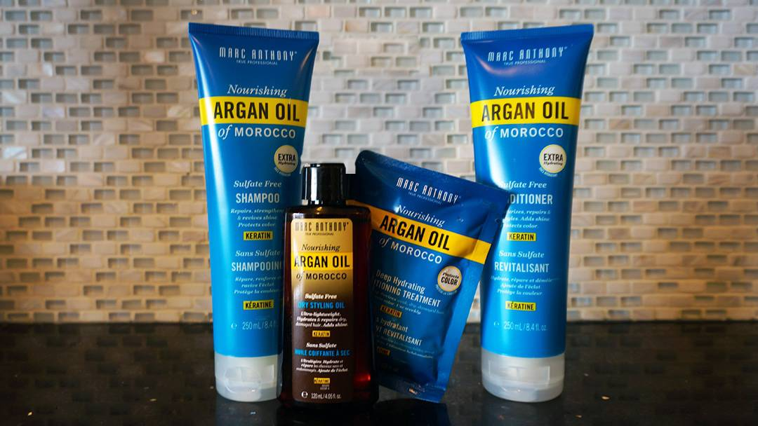 Review Marc Anthony Argan Oil Collection