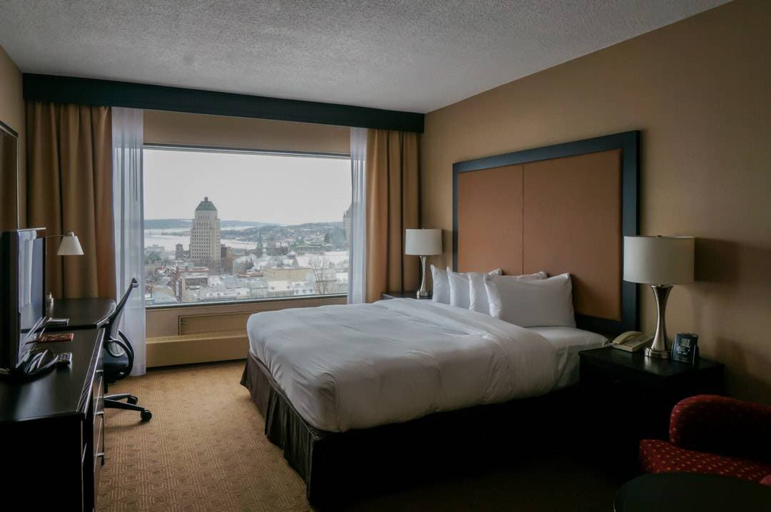 Hilton Quebec City Old City View King Room