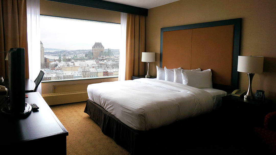 Hilton Quebec City Picturesque Views and Steps from Everything