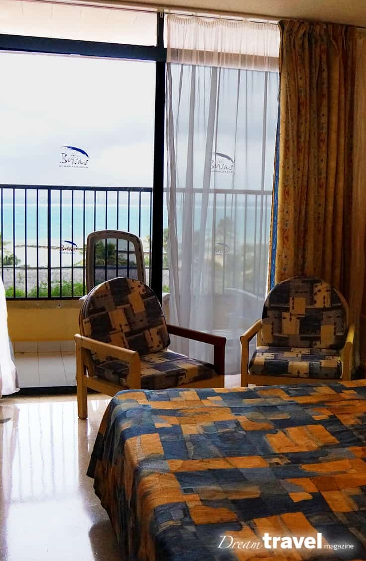 The Brisas Guardalavaca Resort Cuba is an old resort near Holguin Cuba. While the resort facilities are aging the hotel still has a few surprises. Customer service was non-existent but if you are going to enjoy a great beach, in a mid-budget Cuban Hotel you will likely not be disappointed.