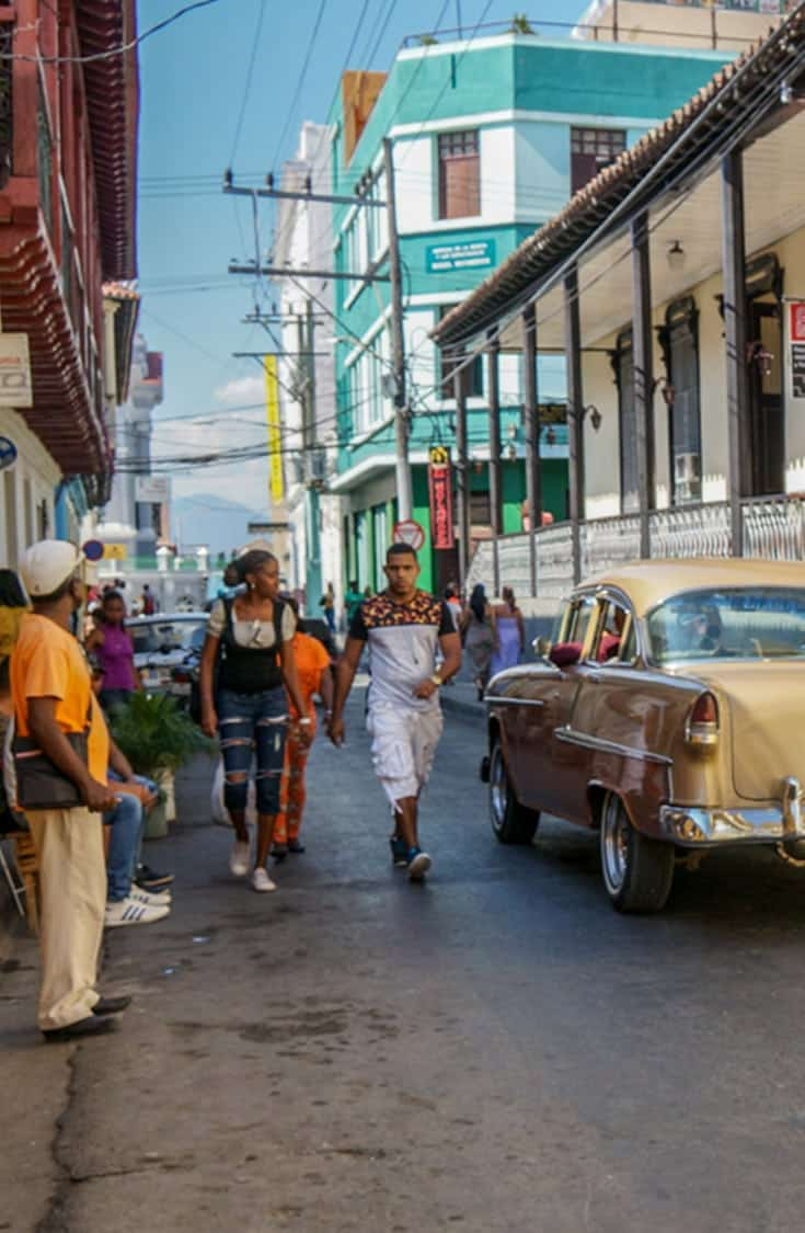 Head off the resort and discover life in the Real Cuba. Our 3 city tour of eastern Cuba: Santiago de Cuba, Holguin and the coastal village of Gibara. | Cuba | off the resort | real Cuba | streets of Cuba | City tour Cuba |