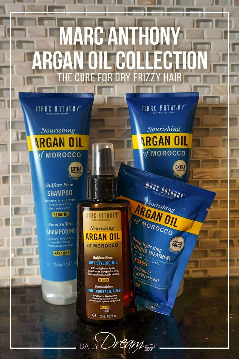 I put Marc Anthony Argan Oil products to the test to see if they really are the cure for dry frizzy hair. Check out the results in this review of the line. | #hair #arganoil #haircare #shampoo #conditioner #marcanthony |