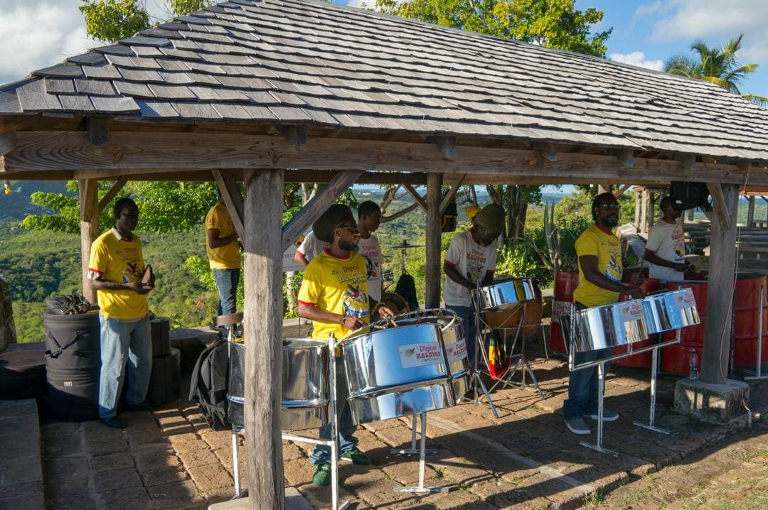 Steel drum band Shirley Heights Antigua